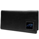 Siskiyou Buckle FNC170BX Carolina Panthers Leather Checkbook Cover