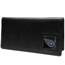 Siskiyou Buckle FNC185BX Tennessee Titans Leather Checkbook Cover