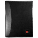 Siskiyou Buckle Cleveland Browns Leather and Canvas Padfolio, FPAD025