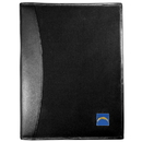 Siskiyou Buckle Los Angeles Chargers Leather and Canvas Padfolio, FPAD040
