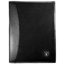 Siskiyou Buckle Oakland Raiders Leather and Canvas Padfolio, FPAD125