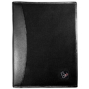 Siskiyou Buckle Houston Texans Leather and Canvas Padfolio, FPAD190