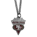 Siskiyou Buckle FPC075 San Francisco 49ers Classic Chain Necklace