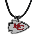 Siskiyou Buckle Kansas City Chiefs Cord Necklace, FPCC045
