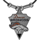 Siskiyou Buckle FPL020 Denver Broncos Classic Cord Necklace
