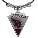 Siskiyou Buckle FPL035 Arizona Cardinals Classic Cord Necklace