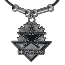 Siskiyou Buckle FPL057 Dallas Cowboys Classic Cord Necklace
