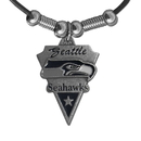 Siskiyou Buckle FPL155 Seattle Seahawks Classic Cord Necklace