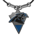 Siskiyou Buckle FPL171 Carolina Panthers Classic Cord Necklace