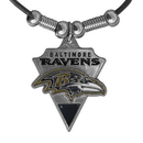 Siskiyou Buckle FPL180 Baltimore Ravens Classic Cord Necklace