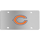Siskiyou Buckle FPLC005 Chicago Bears Steel License Plate
