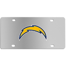 Siskiyou Buckle FPLC040 Los Angeles Chargers Steel License Plate
