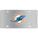 Siskiyou Buckle FPLC060 Miami Dolphins Steel License Plate