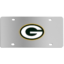 Siskiyou Buckle FPLC115 Green Bay Packers Steel License Plate