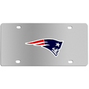 Siskiyou Buckle FPLC120 New England Patriots Steel License Plate