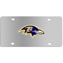 Siskiyou Buckle FPLC180 Baltimore Ravens Steel License Plate