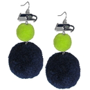 Siskiyou Buckle Seattle Seahawks Pom Pom Earrings, FPPE155