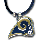 Siskiyou Buckle FPR130 St. Louis Rams Rubber Cord Necklace