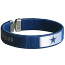 Siskiyou Buckle FRB055 Dallas Cowboys Fan Bracelet