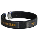 Siskiyou Buckle FRB150 New Orleans Saints Fan Bracelet