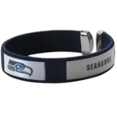 Siskiyou Buckle FRB155 Seattle Seahawks Fan Bracelet