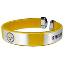 Siskiyou Buckle FRB160 Pittsburgh Steelers Fan Bracelet