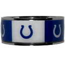 Siskiyou Buckle Indianapolis Colts Steel Inlaid Ring Size 10, FRIS050-10