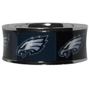 Siskiyou Buckle Philadelphia Eagles Steel Inlaid Ring Size 12, FRIS065-12
