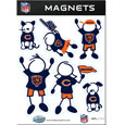 Siskiyou Buckle FRMF005 Chicago Bears Family Magnet Set