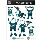 Siskiyou Buckle FRMF065 Philadelphia Eagles Family Magnet Set