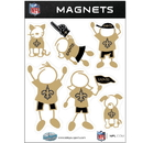 Siskiyou Buckle FRMF150 New Orleans Saints Family Magnet Set