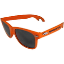 Siskiyou Buckle FS1B020O Denver Broncos Beachfarer Bottle Opener Sunglasses, Orange