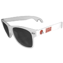 Siskiyou Buckle FS1B025W Cleveland Browns Beachfarer Bottle Opener Sunglasses, White
