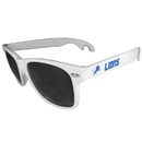 Siskiyou Buckle FS1B105W Detroit Lions Beachfarer Bottle Opener Sunglasses, White