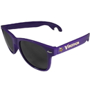 Siskiyou Buckle FS1B165P Minnesota Vikings Beachfarer Bottle Opener Sunglasses, Purple