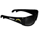 Siskiyou Buckle FS2B040 Los Angeles Chargers Wrap Bottle Opener Sunglasses