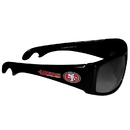 Siskiyou Buckle FS2B075 San Francisco 49ers Wrap Bottle Opener Sunglasses