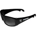 Siskiyou Buckle FS2B125 Oakland Raiders Wrap Bottle Opener Sunglasses