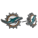 Siskiyou Buckle FSE060 Miami Dolphins Stud Earrings