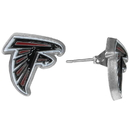 Siskiyou Buckle Atlanta Falcons Stud Earrings, FSE070