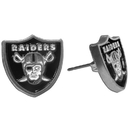 Siskiyou Buckle FSE125 Oakland Raiders Stud Earrings