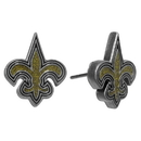 Siskiyou Buckle FSE150 New Orleans Saints Stud Earrings