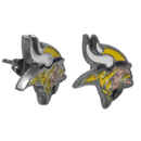 Siskiyou Buckle FSE165 Minnesota Vikings Stud Earrings