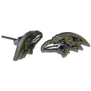 Siskiyou Buckle FSE180 Baltimore Ravens Stud Earrings