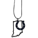 Siskiyou Buckle Indianapolis Colts State Charm Necklace, FSN050