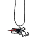 Siskiyou Buckle New England Patriots State Charm Necklace, FSN120