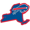 Siskiyou Buckle Buffalo Bills Home State 11 Inch Magnet, FSTM015
