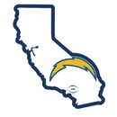 Siskiyou Buckle FSTM040 Los Angeles Chargers Home State 11 Inch Magnet