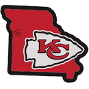 Siskiyou Buckle Kansas City Chiefs Home State 11 Inch Magnet, FSTM045