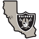 Siskiyou Buckle Oakland Raiders Home State 11 Inch Magnet, FSTM125